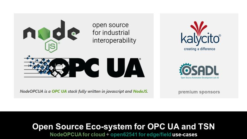 Node OPC UA integration partner
